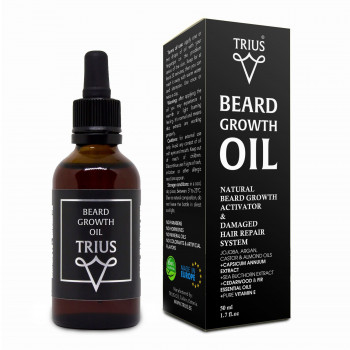 Масло для роста бороды Trius 50 мл