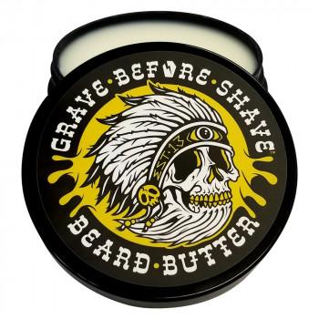 """""""Баттер"""" для бороды от Grave Before Shave (Тиковое дерево)"""