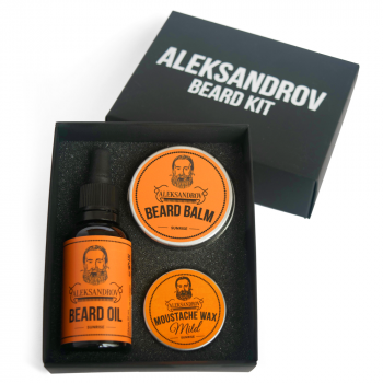 Набор для ухода за бородой Alexandrov Sunrise