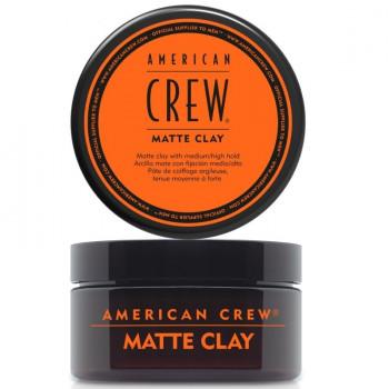 Матовая глина Matte Clay American Crew 85 г