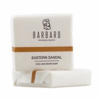 "Мыло для лица и бороды Barbaro ""Eastern sandal"", 90 гр"