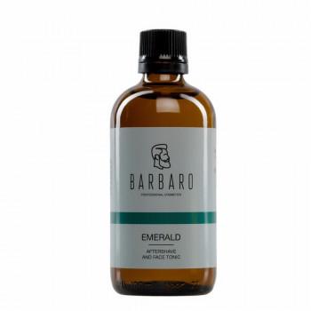 Лосьон (тоник) после бритья BARBARO Emerald