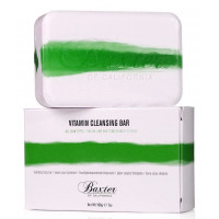 Baxter Of California Vitamin Cleansing Bar Lime/Pom - Мыло с ароматом Лайма и граната 198 гр