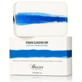 Baxter Of California Vitamin Cleansing Bar Flora/Cassis - Мыло с ароматом цветов и черной смородины 198 гр