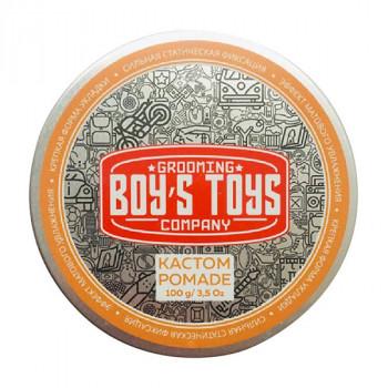 Паста для укладки волос высокой фиксации с низким уровем блеска Boy's Toys 101 карат 100 мл