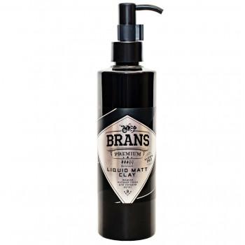 Жидкая матовая глина для укладки волос Brans 100 мл