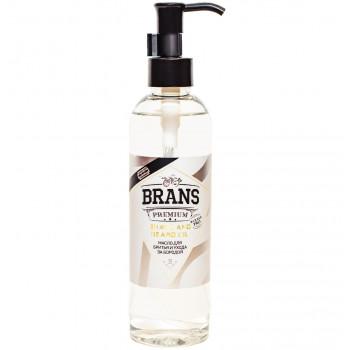 Аргановое масло для бритья контуров бороды и ухода Brans 250 мл