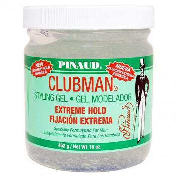 Clubman Extreme Hold Styling Gel Гель для укладки супер-сильной фиксации, 480 мл