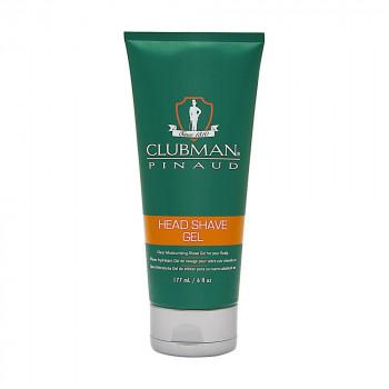 ClubMan Head Shave Gel Увлажняющий гель для бритья 177мл