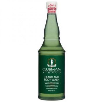 ClubMan Reserve Beard and Body Wash Универсальный гель для душа и мытья бороды, 430мл