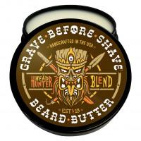 Твердое масло для бороды Head Hunter Gra