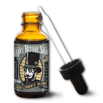 Масло для бороды Grave Before Shave Gentlemen's Blend