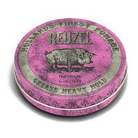 Помада сильной фиксации Розовая Reuzel Grease Heavy Hold Pink Pomade Pig 113 гр