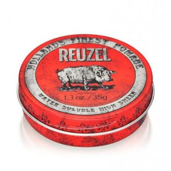 Помада средней фиксации Красная Reuzel Water Soluble Red Pomade Piglet 35 гр