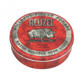 Помада средней фиксации Красная Reuzel Water Soluble Red Pomade Hog 340 гр