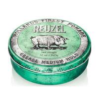 Помада средней фиксации Зеленая Reuzel Grease Medium Hold Green Pomade Hog 340 гр