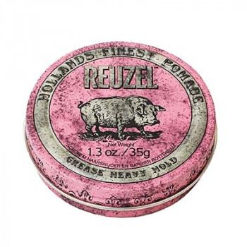 Помада сильной фиксации Розовая Reuzel Grease Heavy Hold Pink Pomade Piglet 35 гр
