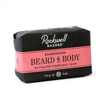 Мыло для бороды и умывания Rockwell