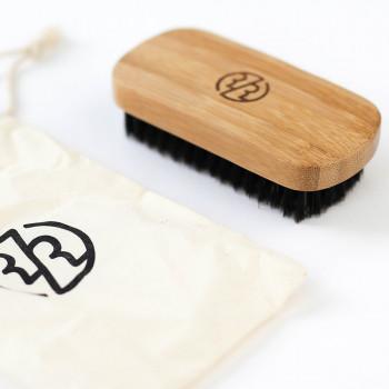 Щетка для бороды Rockwell (бамбук, щетина кабана)