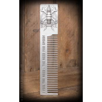 Расческа для бороды и волос Rumble59 3D comb - Need for speed