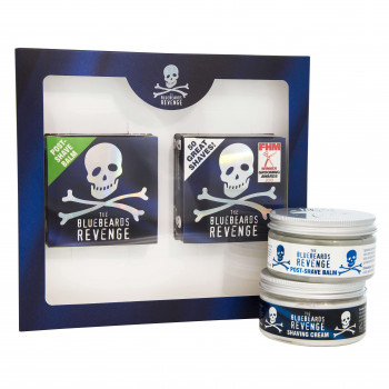 Набор для бритья: Крем для бритья и Бальзам после бритья The Bluebeards Revenge
