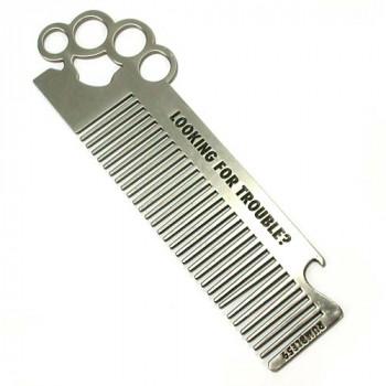 Расческа для бороды и волос Comb Brass Knuckles Rumble59