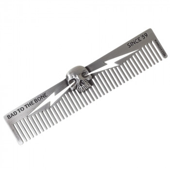 Расческа для бороды и волос Bad to the Bone от Rumble59